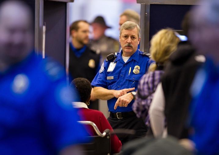 TSA fees airfare
