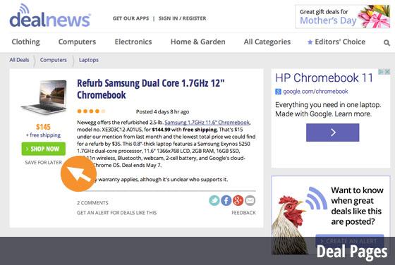 Desktop Item Page Save Deal