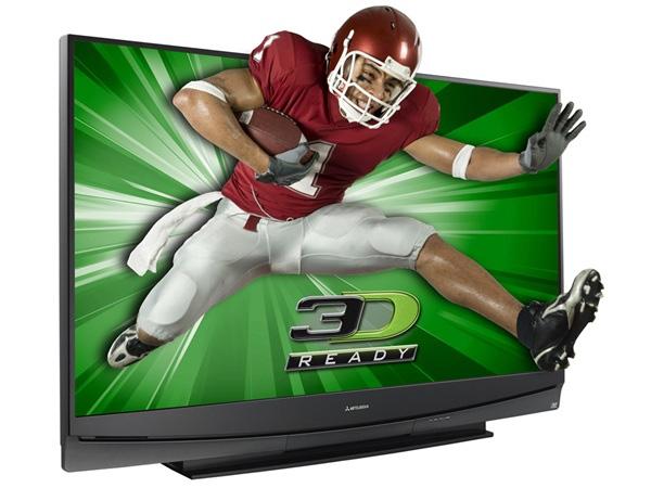 3D HDTV football