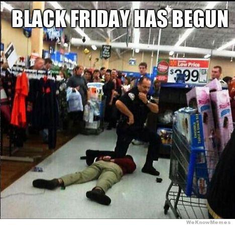 Black Friday begins