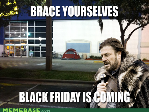 Black Friday coming