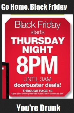 Black Friday hours