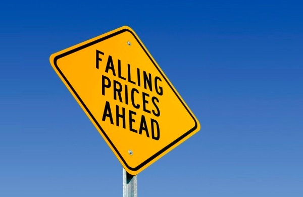 falling prices ahead sign