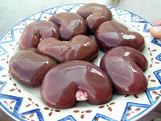 Kidneys on Plate