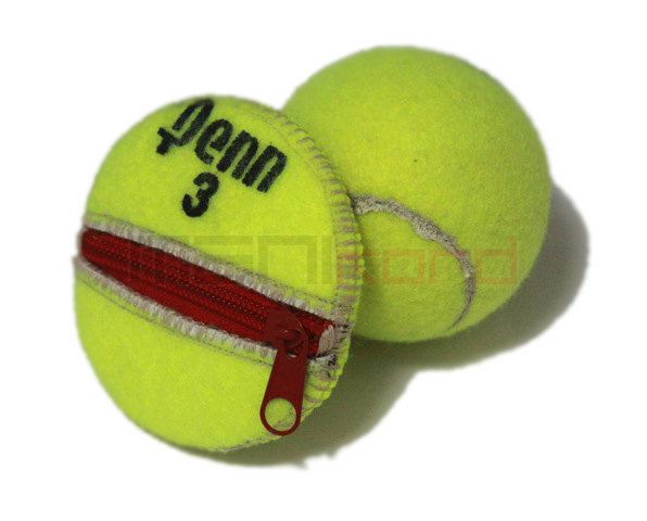 tennis ball change purse