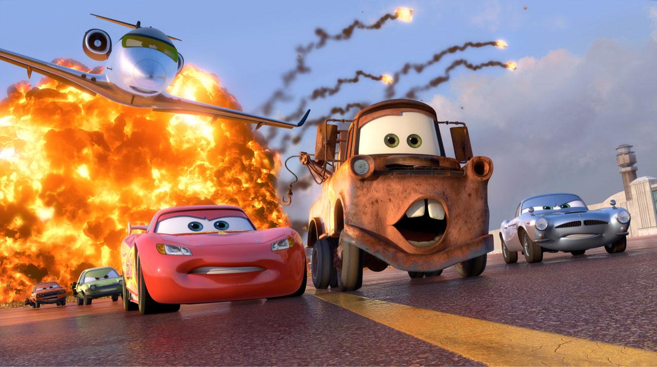 Pixar Cars Explosion