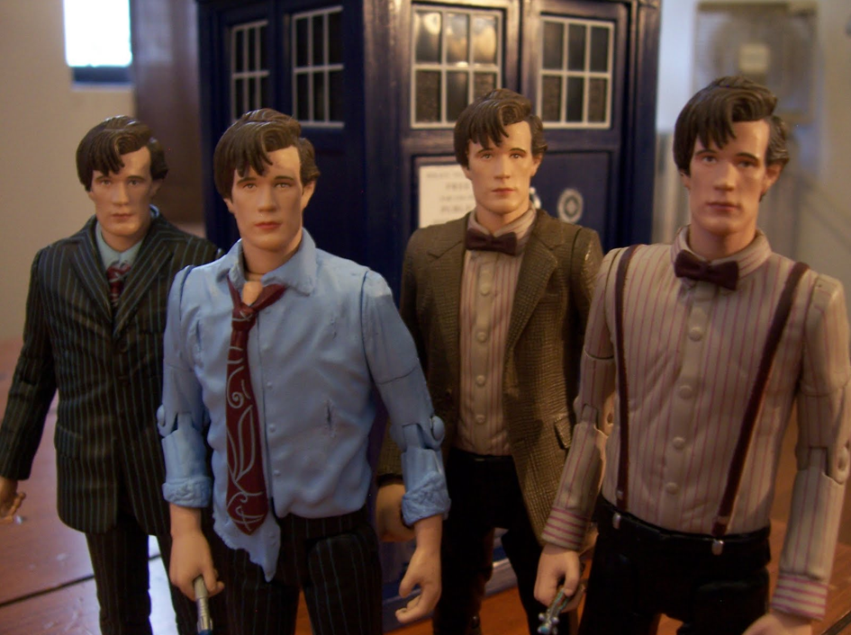 Doctor Who figures