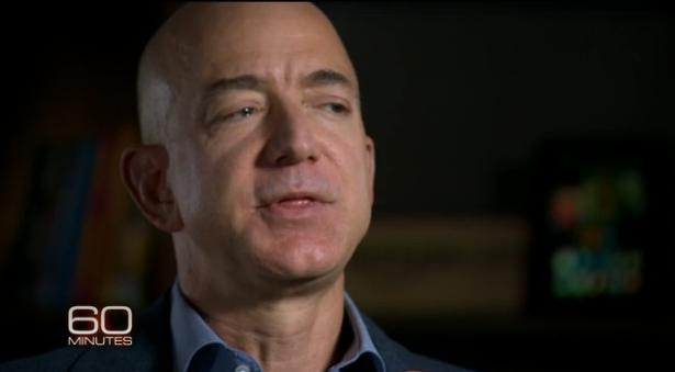Bezos Not Agreeing