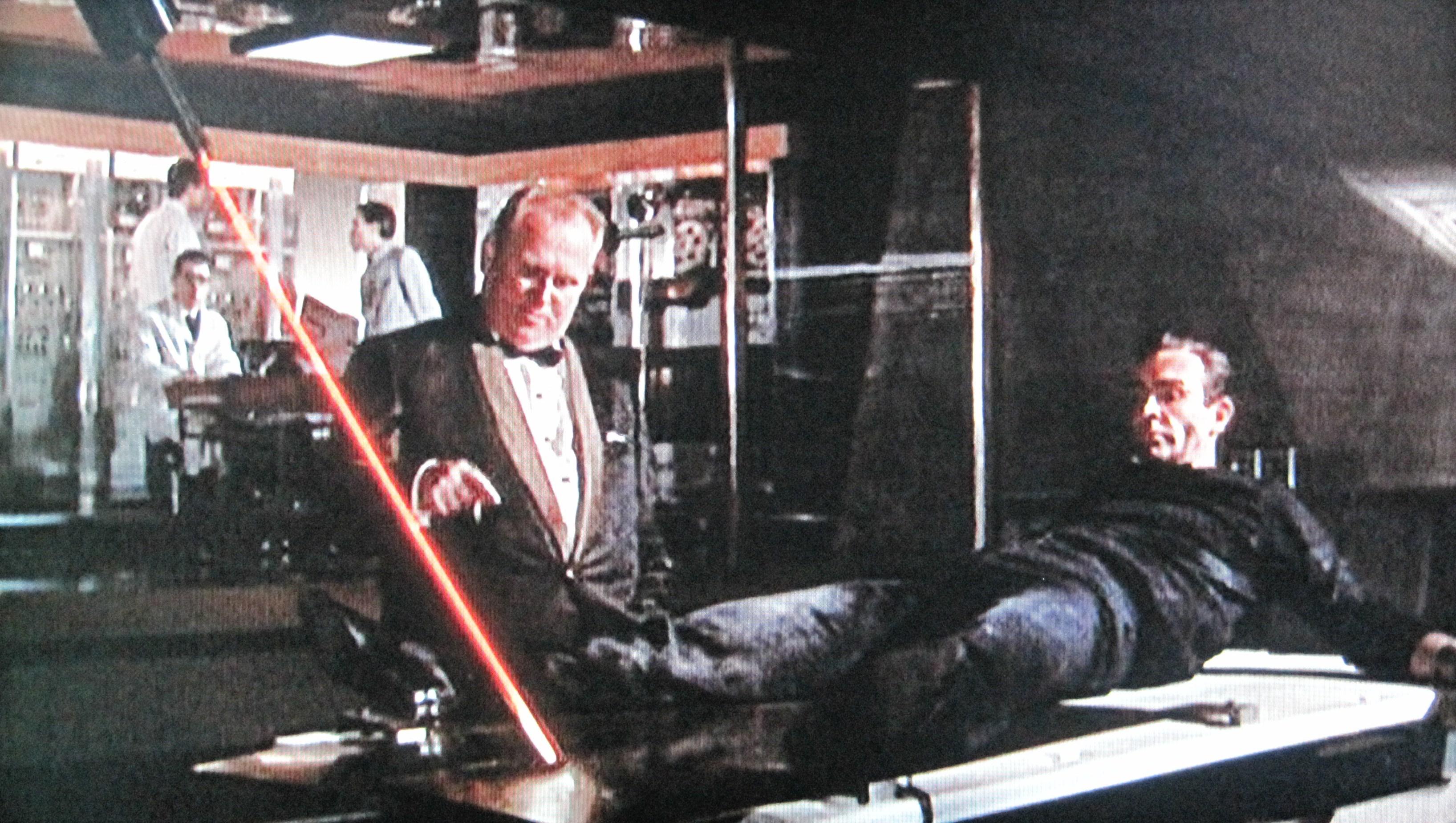 Goldfinger Bond Laser