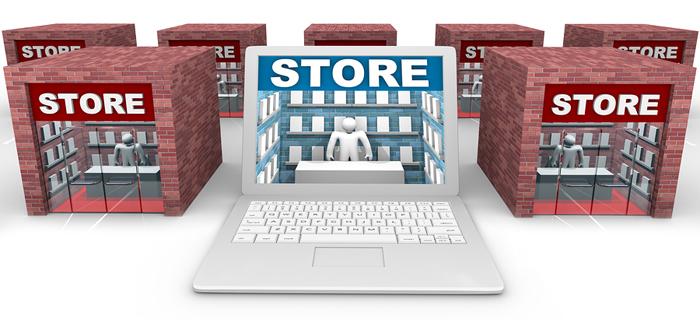 online in-store