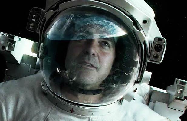 George Clooney in Gravity