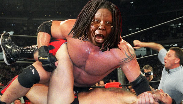 Goldberg as Goldberg