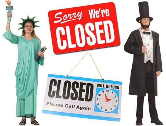 government shutdown costumes