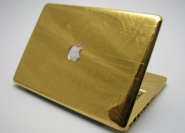 gold laptops