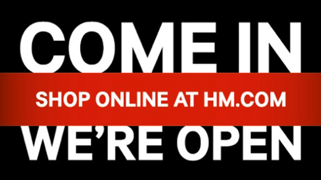 HM.com shop online