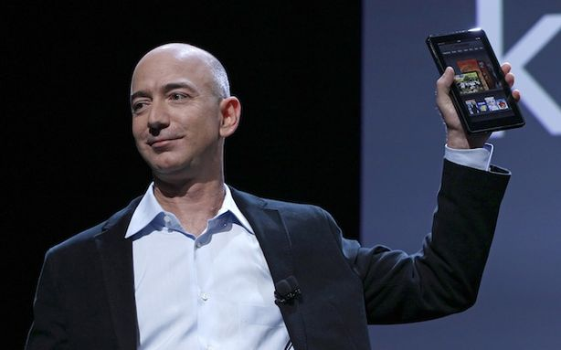 Jeff Bezos Kindle HD