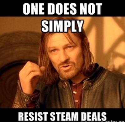 Steam sale meme