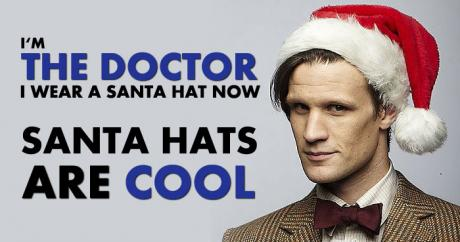 Doctor Who Santa