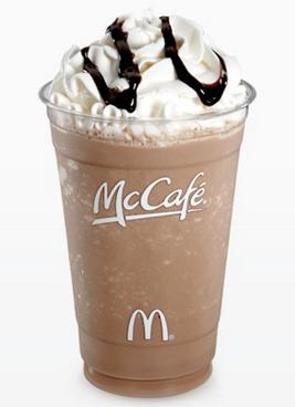 McDonald's frappe mocha