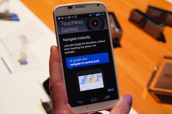 Moto X Touchless Control