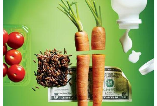 cost of organic whole foods