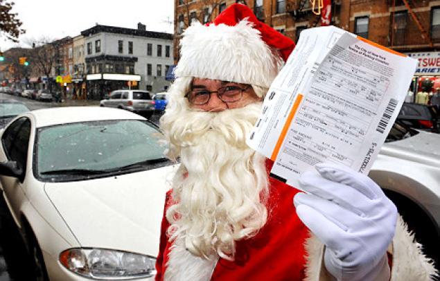 Santa's Parking Ticket