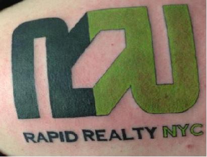 Rapid Realty tattoo