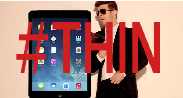 iPad Blurred Lines