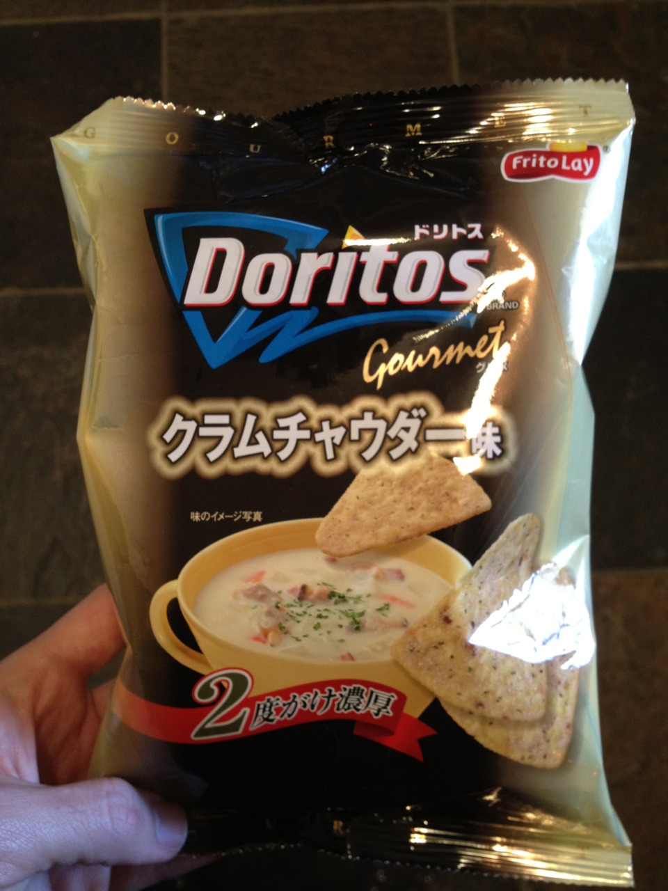 clam chowder dorito