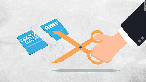 Are there any benefits for shopping at Costco with an American Express card?
