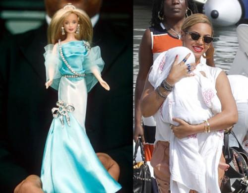 Blue Ivy birthday Barbie