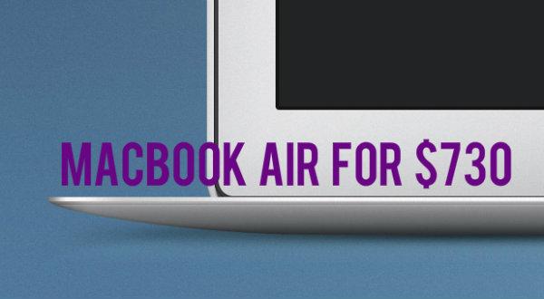 Apple Black Friday macbook deals