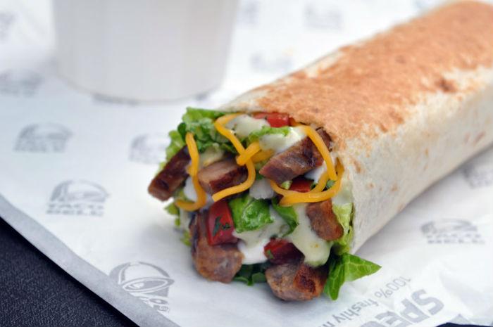 Taco Bell Cantina Power Burrito