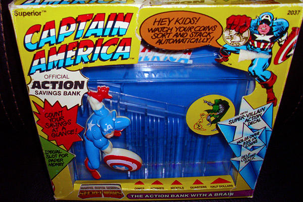 Captain America action bank