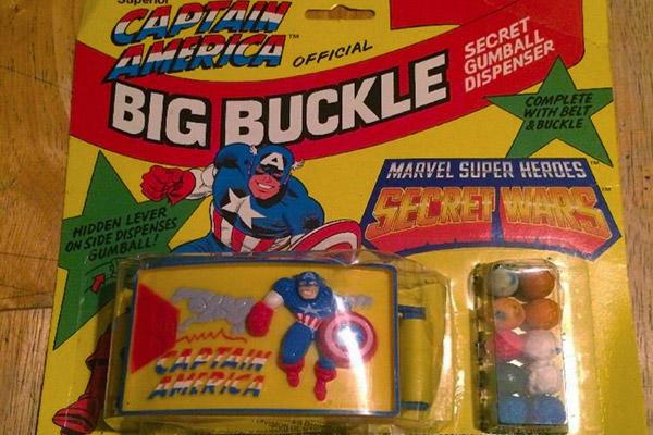 Captain America gumball dispenser