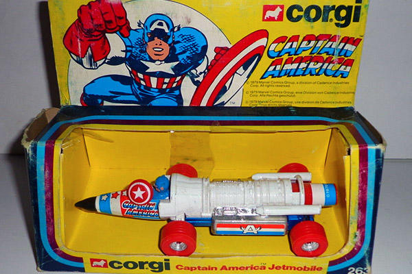 Captain America Jetmobile toy
