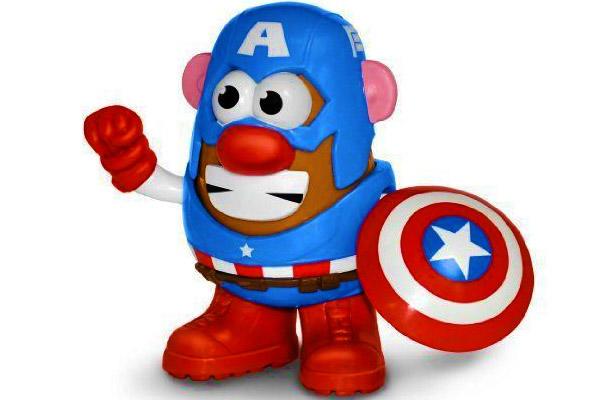 Captain America Mr. Potato Head
