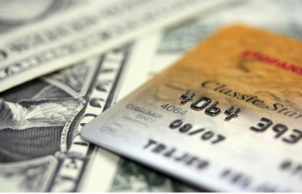 credit card on cash