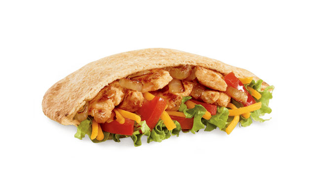 Jack in the Box Chicken Fajita Pita