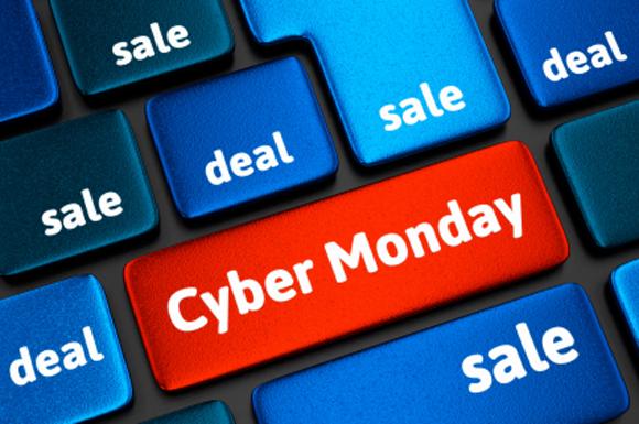 Cyber Monday keyboard