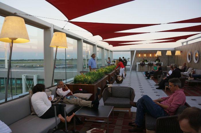 Delta Sky Club at JFK Airport