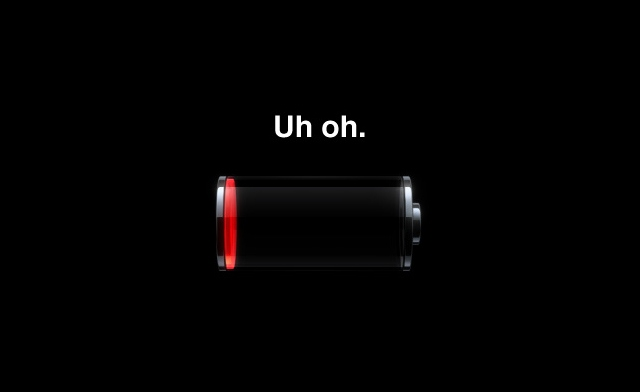 Phone battery dying