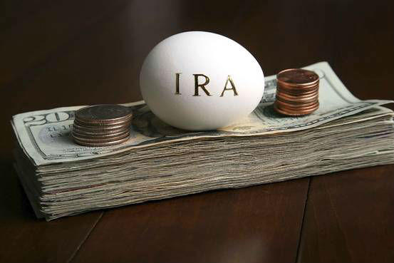 IRA egg with money