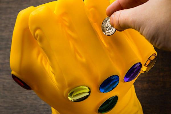Infinity Gauntlet Bank