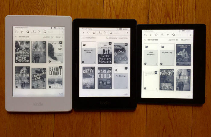 Kindle eBook readers