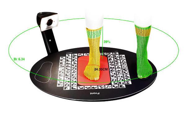 digital foot scanner