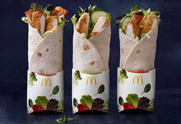 McDonald's Premium McWraps
