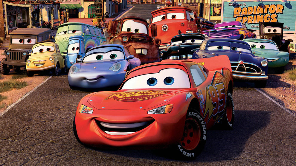 Cars movie characters