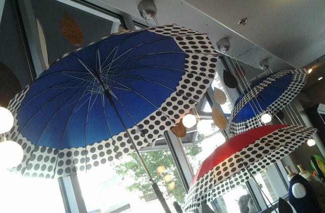 ShedRain umbrellas display