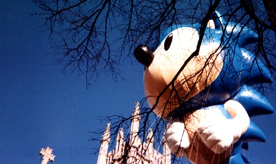 Sonic the Hedgehog in Macy's Parade